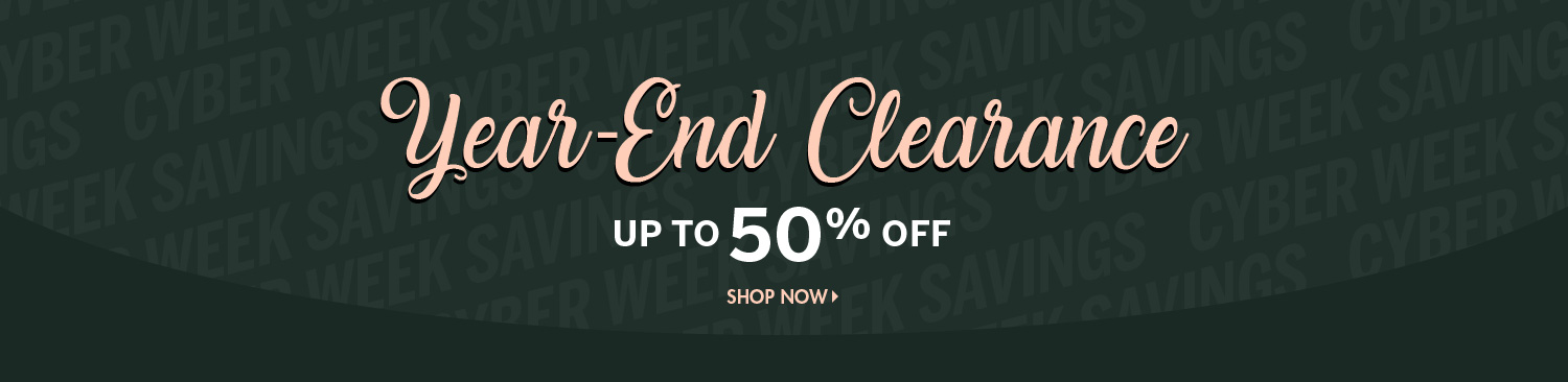 Save on Year-End Clearance