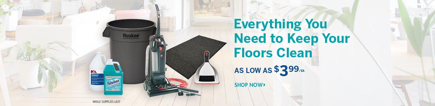 Save on Floor Care Supplies