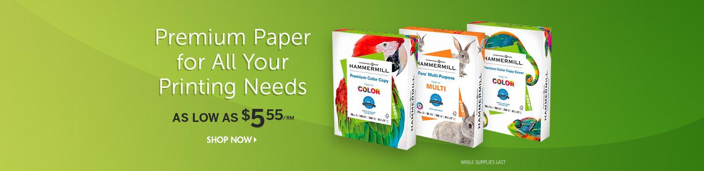 Save on Premium Copy Paper