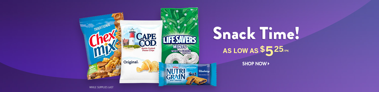 Save on Snacks