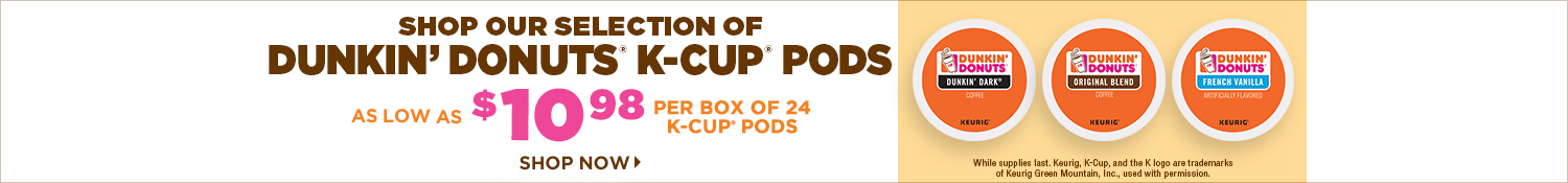 Shop Dunkin Donuts K-Cup Pods
