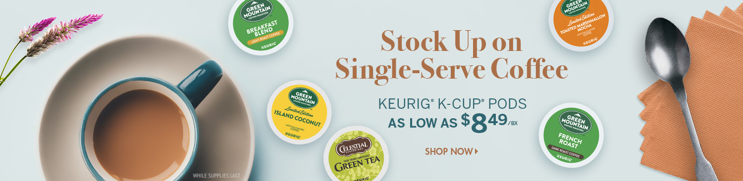 Save on K-Cup Pods