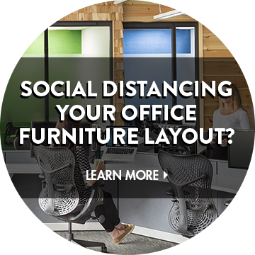 Social Distancing Office Layout