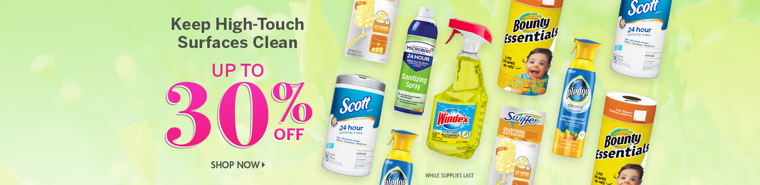 Save on Surface Cleaners