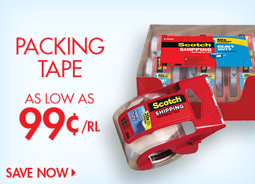 Save on Packing Tape