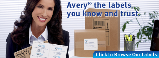 Browse Avery Labels