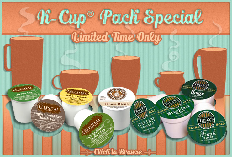 K-Cup Pack Special