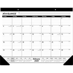 Ruled Desk Pad, 22 x 17, 2020