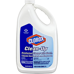 Clean-Up® Disinfectant Cleaner with Bleach, Refill, 128 Ounces