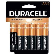 Coppertop® AA Alkaline Batteries, 12/PK