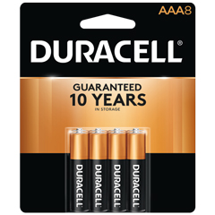 Coppertop® AAA Alkaline Batteries, 8/PK