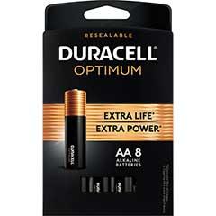 Optimum Batteries, AA, 8/PK