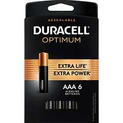 Optimum Batteries, AAA, 6/PK