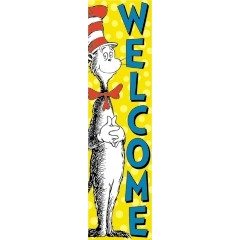 Cat in the Hat™ Welcome Banner