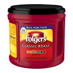 Coffee, Classic Roast Ground, 30.5 oz. Can