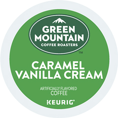 Caramel Vanilla Cream Coffee K-Cup® Pods, 24/BX