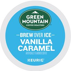 Brew Over Ice Vanilla Caramel K-Cup® Pods, Medium Roast, 24/BX
