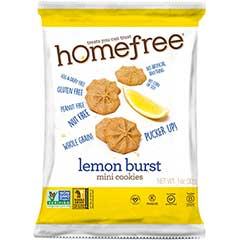 Gluten Free Lemon Mini Cookies, 1.1 oz. Pack, 30/CS