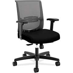 Convergence Task Chair, Black Mesh