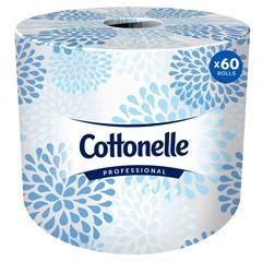 Two-Ply Bathroom Tissue, 451 Sheets/Roll, 60 Rolls/Carton