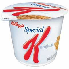 Special K® Cereal, Single-Serve 1.25 oz. Cup, 6/BX
