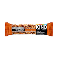 Nuts and Spices Bar, Caramel Almond Pumpkin Spice, 1.4 oz. Bar, 12/PK