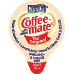Original Liquid Coffee Creamer, 0.38 oz. Single-Serve Cups, 360/CS