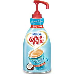 Non-Dairy Liquid Coffee Creamer, Coconut Crème, 1.5 Liter Pump Bottle