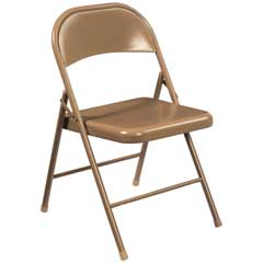 Folding Chair, Beige