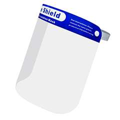 Transparent Face Shield, Child Size - (Exact Design May Vary)