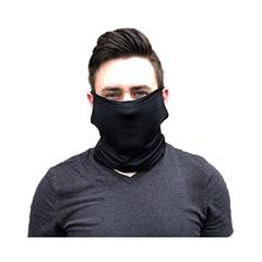 Neck Gaiter with Cool Touch Fabric, Black