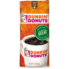 Ground Coffee, Dunkin' Decaf®, 12 oz. Bag