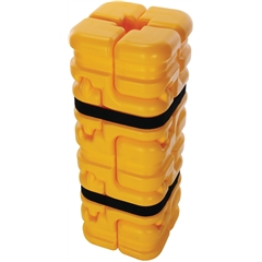 "Column Sentry® FIT Column Protector, Small, Adjusts to Fit Columns 4"" x 4"" to 8"" x 8"""