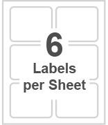 6 labels per sheet