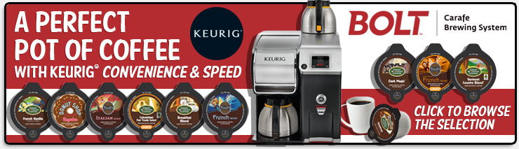 Browse the Keurig Bolt Selection