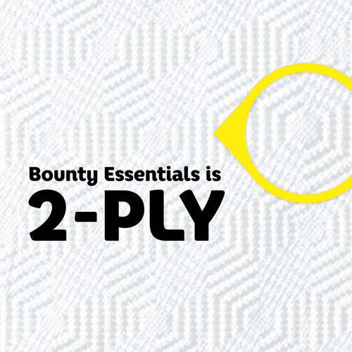 Bounty is Two Ply