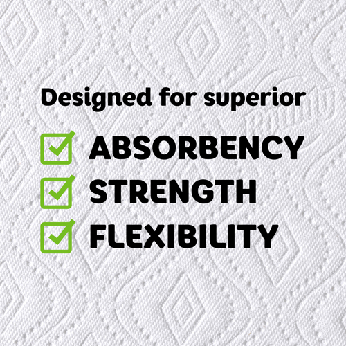 Designed for Absorbency, Strength, and Flexibility