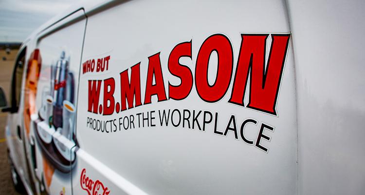 WB Mason Coffee Service Van