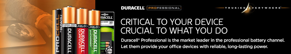 Duracell Landing Page Header