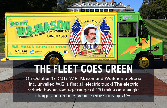 The Fleet Goes Green
