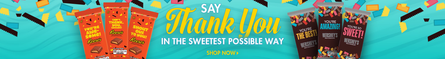 Shop Thank You Candy Bars