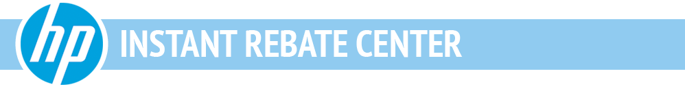 HP Instant Rebate Center Header