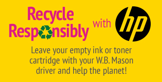 Recycle Empty Cartridges Responsibly With HP