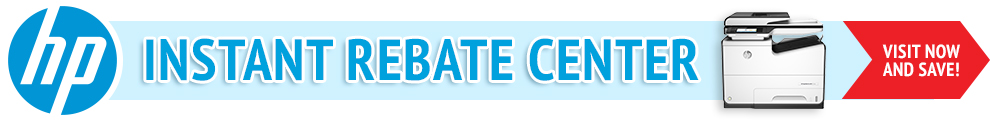 HP Instant Rebate Center Banner