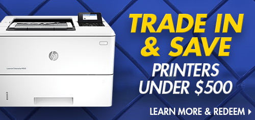 Trade In and Save on HP Printers