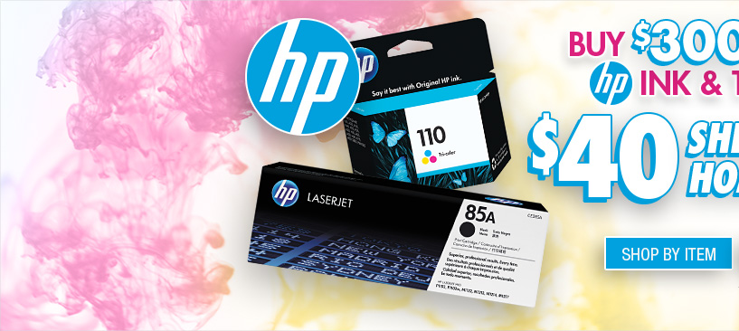 Shop HP Ink and Toner Offer by Item