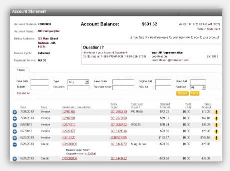 Great Invoices And Account Statement Online! Throughout Order Invoices Online