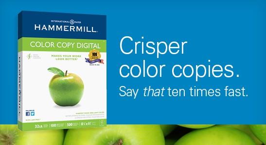 Browse Hammermill Color Copy Paper