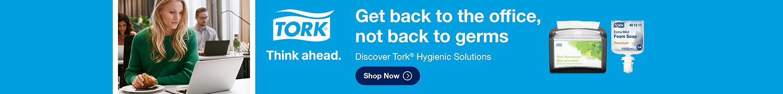 Tork Brand Store Header