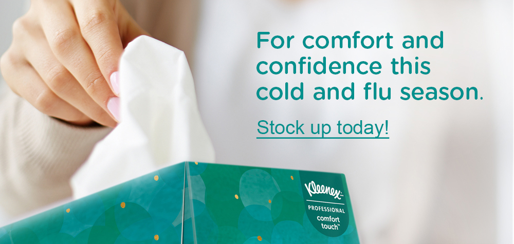 Use Kleenex for Cold and Flu Season